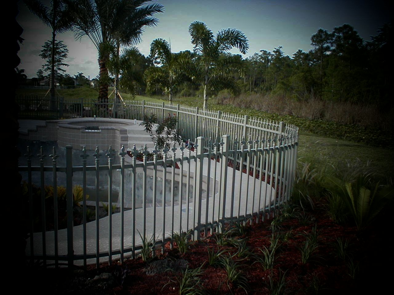 West palm beach welded aluminum fence manufacturer and