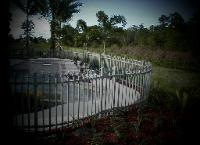 West Palm Beach Welded Aluminum Pool Fence Installation