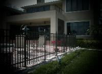 West Palm Beach Welded Aluminum Swimming Pool Fence Installation