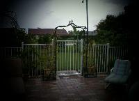 West Palm Bech Aluminum Ornamental Gate Installation
