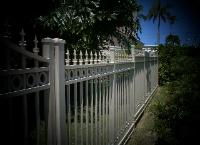 West Palm Beach Welded Ornamental Aluminum Fence Installation